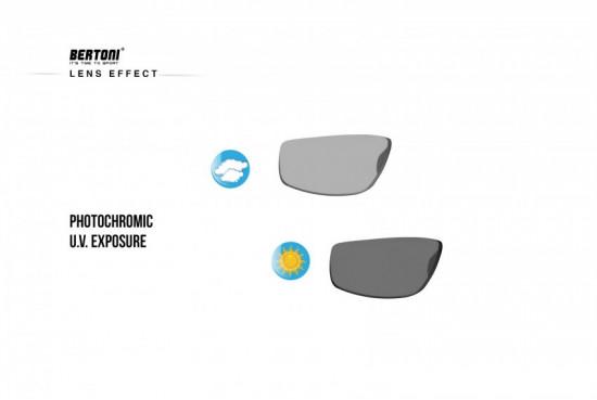 Occhiali Sport Polarizzati Fotocromatici per Ciclismo Running Pesca Nautica Golf - Naselli Regolabili P180FTM